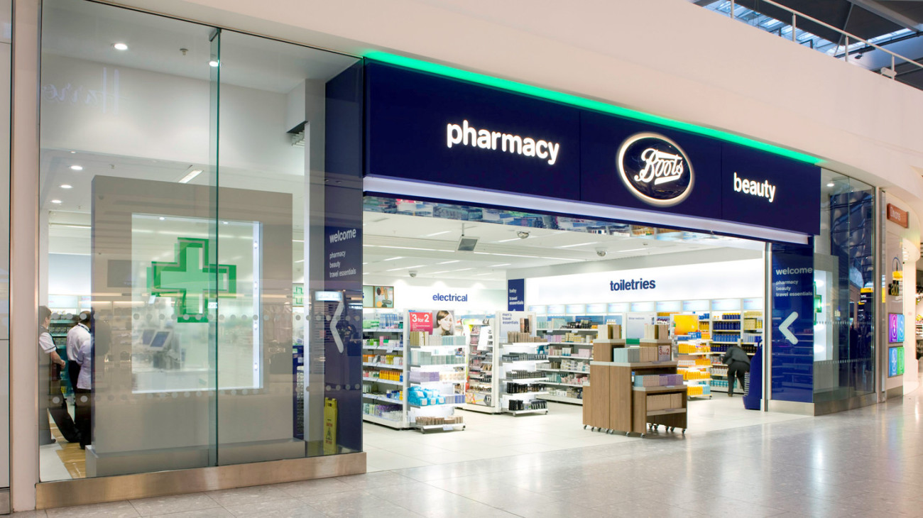 Boots The Chemist Airports