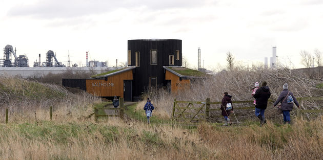 Saltholme Bird Hide - CGL Architects