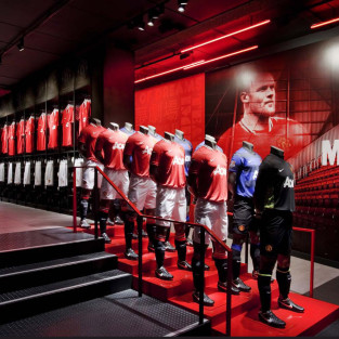 Manchester United Megastore Entrance