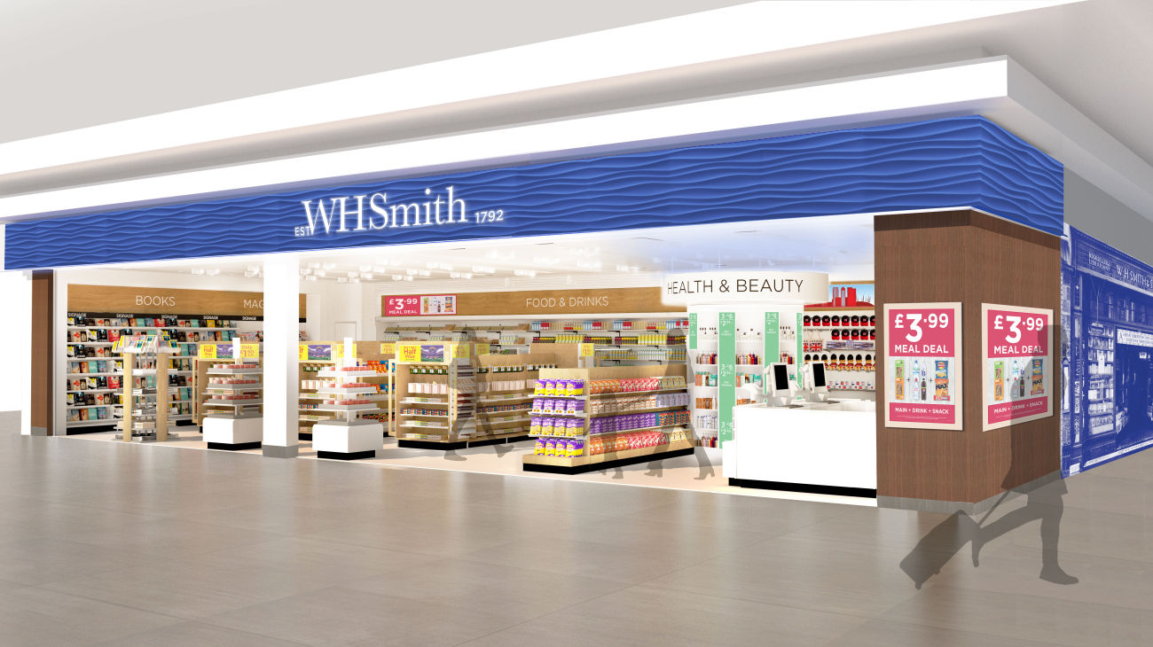 WHSmith Heathrow T4 Airside - CGL Architects