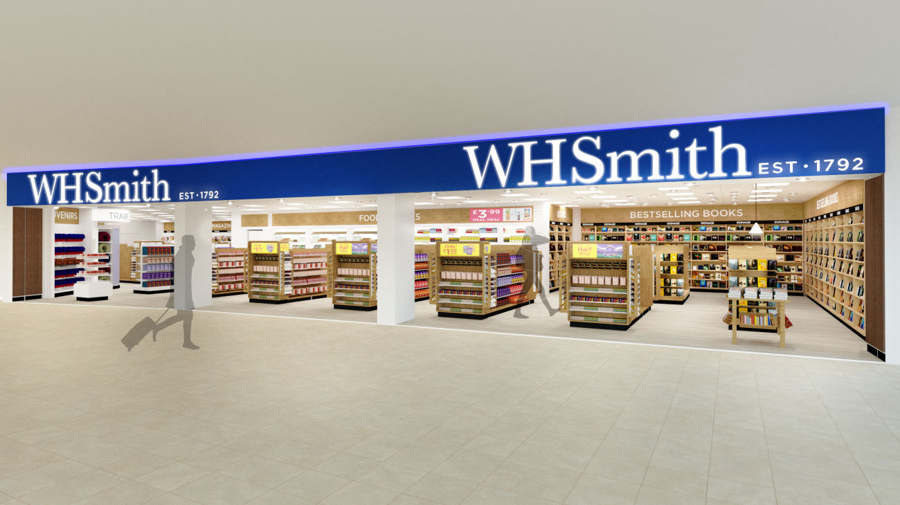 WHSmith Belfast Airport - CGL Architects